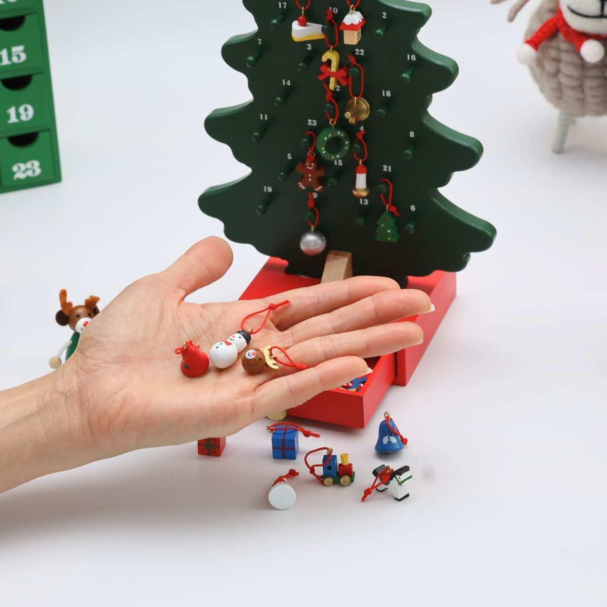 クリスマス ドベントツリー